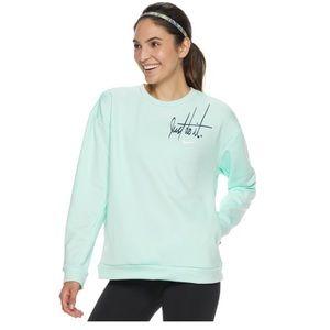 Women's Nike Therma Graphic Fleece Training Top